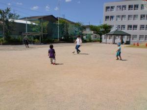 【ミニサッカーを行いました!】