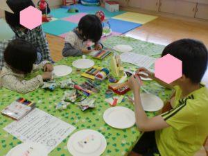 【紙皿タンバリンを作成しました!】