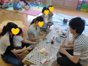 【親子クラフトを開催しました!】
