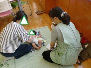 【赤ちゃん広場が開催されました!】