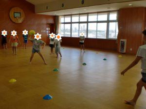 【ドッヂボールを行いました!】