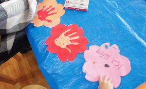 【3/17(土)、18(日) 創作活動☆手形で桜を咲かせよう☆】