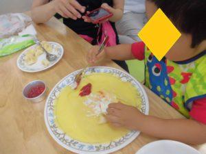 親子クッキング 2・3歳&4・5歳/クレープ作り