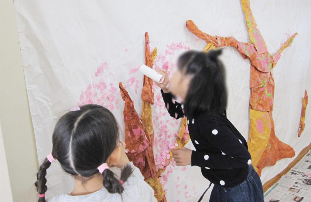 【3/29(金)、30(土) 創作活動☆紙ふぶきでお花を咲かせよう☆】