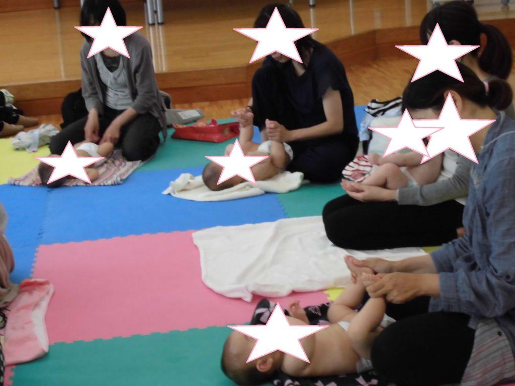 6/5(木)ベビーマッサージ(要申込)
