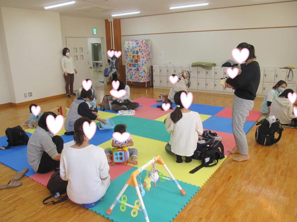 【10/20(火)赤ちゃん広場】