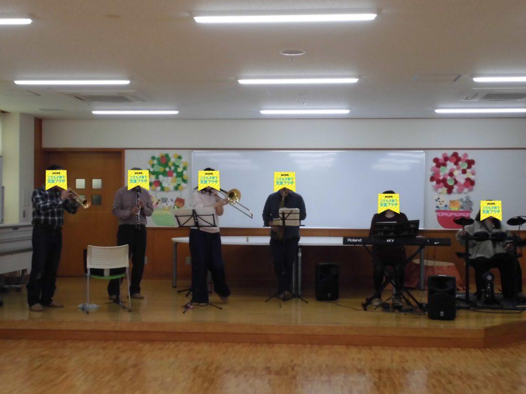 【11/1(日)ミニJAZZコンサートがやってきた♪】