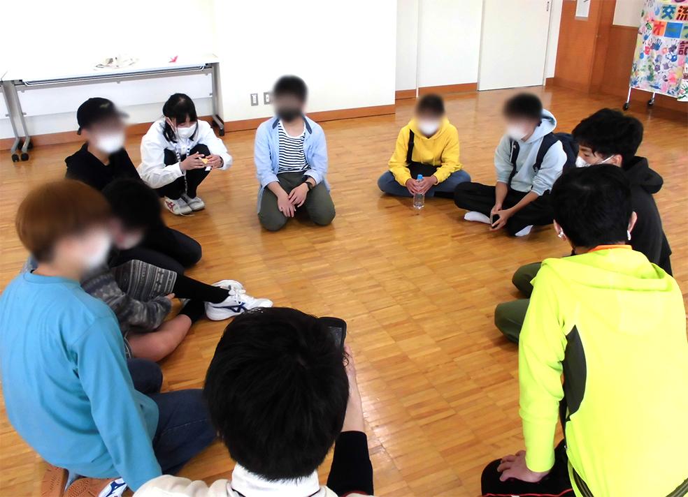【4/10 中高生の居場所計画&中高生のしゃべり場】